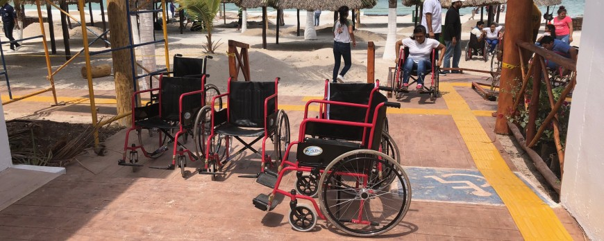 Campeche already has its first Inclusive Beach!