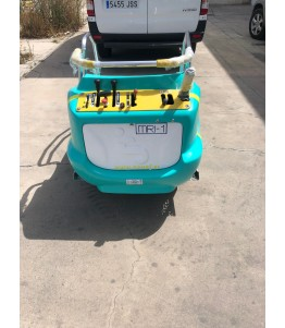 The MRI-I is a vehicle adapted to transport people with mobility problems to places of difficult access