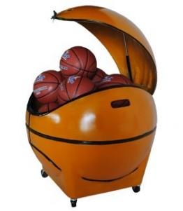 Novaf Ball Box. Ball organizer for the court