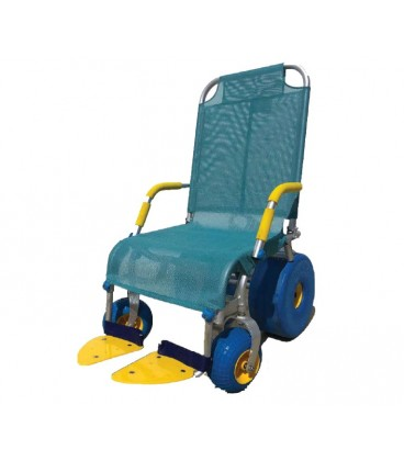 Shower chair. To facilitate cleaning for people with reduced mobility