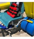 Novaf Atlantic Chair XXL. Fully accessible amphibious chair with special width
