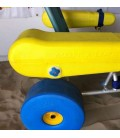 Atlantic Chair (Oceanic), es una silla anfibia que permite el baño en la playa de personas con movilidad reducida