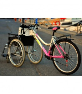 Kit adapta más bicicleta para adaptar tu silla de rueda