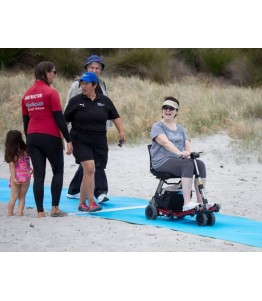 Flexipasarelas 1520 mm. Facilita el acceso temporal de personas por la arena