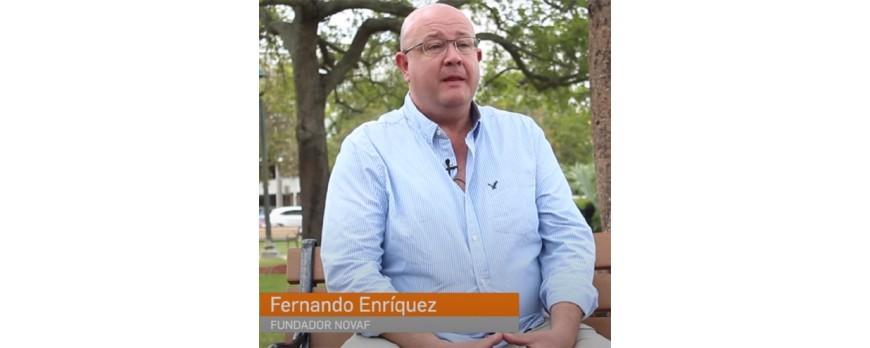Fernando Enríquez (NOVAF), paving the way for people with reduced mobility.