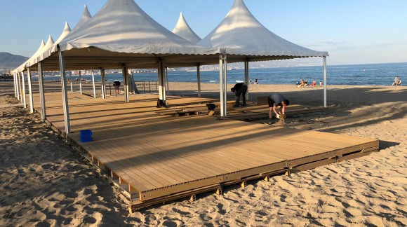 """The beaches of """"El Dedo"""" and """"La Misericordia"""", adapted for the disabled (Spain)"""