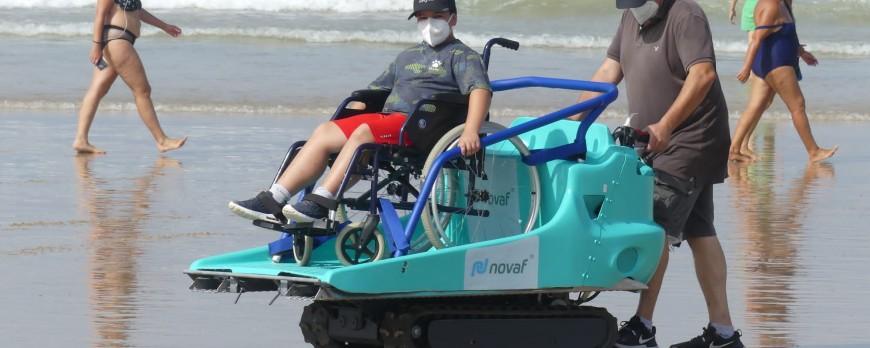 Red Cross of Chiclana de la Frontera acquires equipment for its beaches
